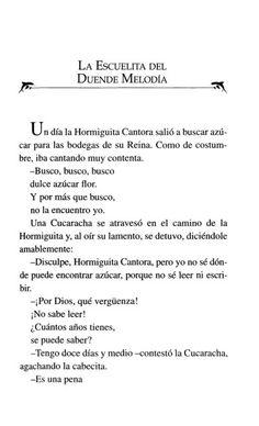 La Hormiguita Cantora y el Duende Melodía Sugar Flowers, Elves, Literatura