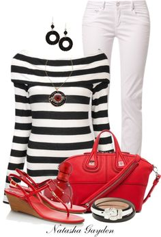 """Off The Shoulder Top"" by natasha-gayden on Polyvore"