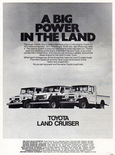 https://flic.kr/p/GYfdcE | 1976 Toyota Land Cruiser FJ40 & FJ55 Station Wagon Aussie Original Magazine Advertisement
