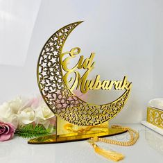 Eid Mubarak Decor Eid Decoration Moon Star Decor Islamic   Etsy Ramadan Decorations, Star Decorations, Eid Moon, Moon Decor, Ramadan Gifts, Acrylic Mirror, Islamic Gifts, Amazing Decor, Event Organization