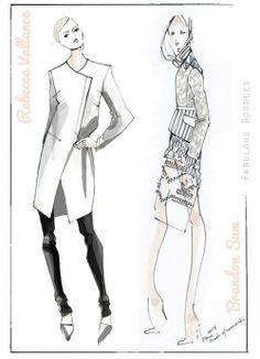Designer-Sketches-NYFW-Fall+2014-Rebecca+Vallance-Brandon+Sun.jpg (500×691)