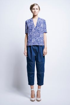 Vika Patched Pants - All Clothing | Karen Walker