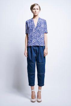 Vika Patched Pants - All Clothing | Karen Walker