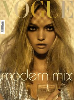 I love Italian Vogue. I also love the combination of the classic, timeless and the modern.