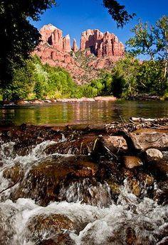 Cathedral Rock & Waterfalls -Sedona, Arizona