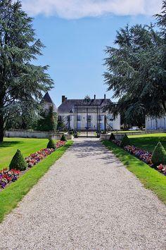 Argent-sur-Sauldre - Château de Saint-Maur (construit vers 1776-1778 par l'architecte Victor Louis)