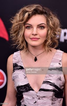Camren Bicondova attends the 'Batman V Superman: Dawn Of Justice' New York premiere at Radio City Music Hall on March 20, 2016 in New York City.