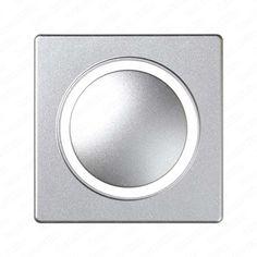 placa mecanismos electrnicos de tacto simon detail color aluminio