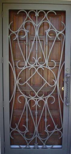 security screen door also very pretty