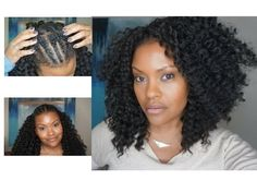 QUICK & EASY CROCHET BRAIDS (ALOPECIA, FINE HAIR & THINNING HAIR) Weave Net - YouTube