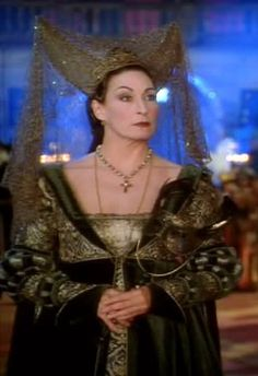Baroness Rodmilla de Ghent (from Ever After: A Cinderella Story, 1998). Portrayed by Anjelica Huston