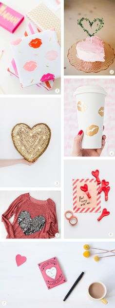 Oh the lovely things: 14 Valentine's Day DIY Projects and Free Printables