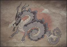 Japanese Dragon by KillerC