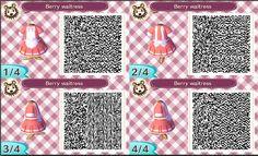 Berry Waitress Dress- ACNL