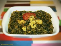 king prawn and spinach saag curry