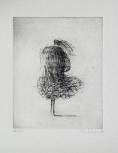 Original Etching Wind by valdas on Etsy Graphite Drawings, Drawing Sketches, Art Drawings, Drypoint Etching, Art Techniques, Art Lessons, Painting & Drawing, Amazing Art, Original Paintings