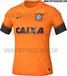 944154ac52 Nova terceira camisa do Corinthians 2015 2016.