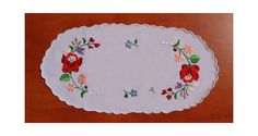 Perfect present for women Hungarian embroidery by kalocsa on Etsy