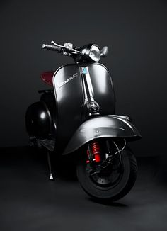 "The Vespa is a line of scooters patented on April 1946 by the company Piaggio Co, S. The name Vespa, which means ""wasp"" in Italian, was chosen by Enrico Piaggio. Vespa Sprint, Vespa Gts, Piaggio Vespa, Moto Vespa, Scooters Vespa, Lambretta Scooter, Motor Scooters, Scooter Scooter, Vintage Vespa"