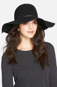 Free shipping and returns on Hinge Floppy Felt Hat at Nordstrom.com. A slim leather band circles a stylishly floppy hat done up in rich felted wool.