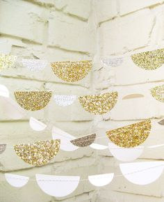 3 Sparkly Garland Ideas + How To Make Your Own!