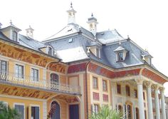 """Schloss Pillnitz im """"chinesischen"""" Stil"""