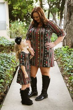 Adorable matching mommy and me clothing from Be Inspired Boutique!