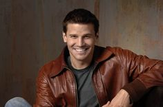 David Boreanaz. Yep that decided it for me; I'm gonna go watch bones now, also loved him in Angel!