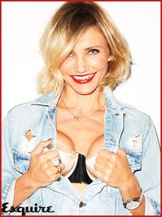 Cameron Diaz, who just turned 40 at the end of August, is seductive and sexy in the pages of the November 2012 issue of British Esquire magazine.