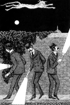 Macavity the mystery cat, by Edward Gorey