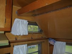 1966 Frolic by dwstucke, via Flickr. . . curtains on upper windows . . . also great picture of a quality bunk similar to ours.
