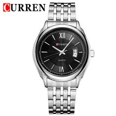 $25.98 (Buy here: https://alitems.com/g/1e8d114494ebda23ff8b16525dc3e8/?i=5&ulp=https%3A%2F%2Fwww.aliexpress.com%2Fitem%2F2013-NEW-Stainless-Steel-Fashion-Mens-Quartz-Analog-Wrist-Watch-Men-For-2013-Business-Dress-Watch%2F1325309326.html ) CURREN Mens Watches Top Brand Luxury Stainless Steel Strap Men's Quartz Watch Casual Watch Men Watches relogio masculino for just $25.98