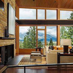 Architektur: Ein tolles Haus in den Rocky Mountains | KlonBlog