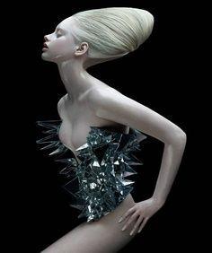 silver fashion editorial - Google Search