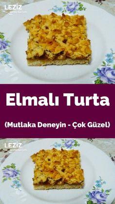 Elmalı Turta (Mutlaka Deneyin - Çok Güzel)