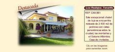 CAN861 Los Realejos. Tenerife.  Villa y finca en venta.