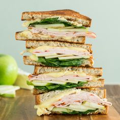 Sandwiches are always better by the stack!