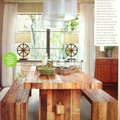 A nice chunky table