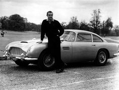 Aston Martin DB 5 via JamesBondLifestyle.com