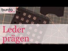 Leder prägen Diy Tutorial, Cards Against Humanity, Video Tutorials, Learning, Sewing, Knitting, Crochet, Youtube, Om