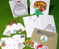 Totoro Christmas Cards