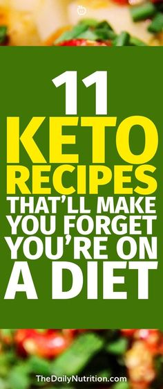 Looking for keto recipes? These ketogenic recipes will have your forgetting that this stuff is actually good for you.