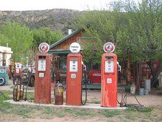 Vintage Gas Pumps...