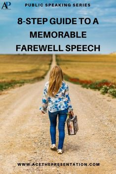 Bidding farewell is never easy. Are you stepping down, or resigning from a company and want to leave that last speech? Here's an awesome guide for a memorable Farewell Speech. Check out our guide, with a Farewell Speech Example at the bottom.  #farewellspeech #goodbyespeech #memorablefarewellspeech #typesofspeech