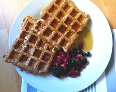 Use your healthy extra b and these amazing French toast waffles are syn free for two! Top with your favourite fruit for a fabulous breakfast treat.
