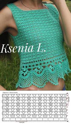 Crochet Pants, Crochet Cardigan, Crochet Clothes, Knit Crochet, Crochet Diagram, Crochet Patterns, Clothes Crafts, Vintage Crochet, Knitting Stitches