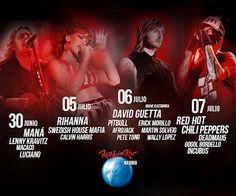 Rihanna estará en Rock in Rio Madrid