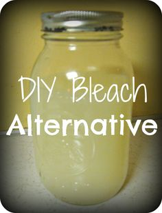 DIY bleach alternative