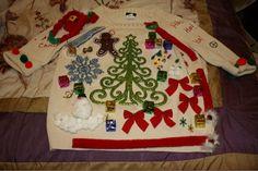 DIY Ugly Christmas Sweater   AlmaKnack