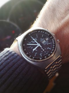 Vintage OMEGA Speedmaster Mark 4.5 Chronograph Powered By Lemania 5100 - http://omegaforums.net